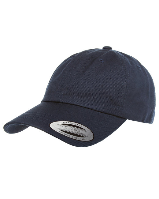 Yupoong Adult Low-Profile Cotton Twill Dad Cap - Navy