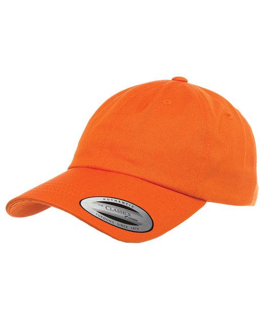 Yupoong Adult Low-Profile Cotton Twill Dad Cap - Orange