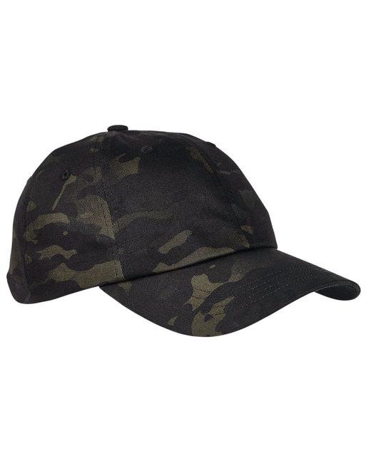 Yupoong Low Profile Cotton Twill Multicam® Cap - Black Multicam