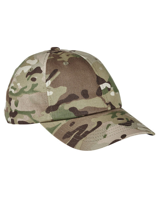 Yupoong Low Profile Cotton Twill Multicam® Cap