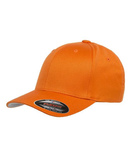 Flexfit Adult Wooly 6-Panel Cap - Orange