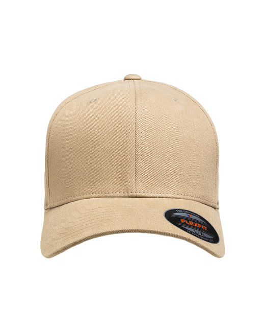 Flexfit Adult Brushed Twill Cap - Khaki