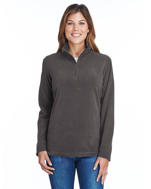 Columbia Ladies' Crescent Valley� Quarter-Zip Fleece - Charcoal