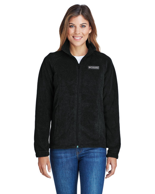 Columbia Ladies' Benton Springs� Full-Zip Fleece - Black