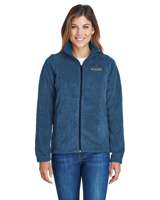 Columbia Ladies' Benton Springs� Full-Zip Fleece - Columbia Navy