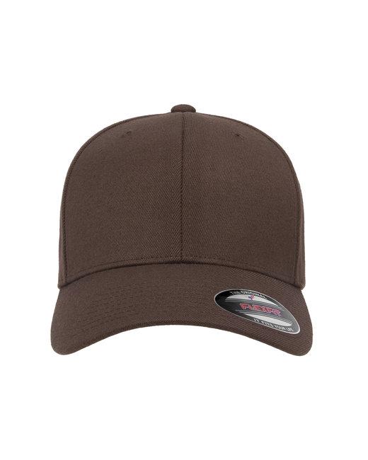 Flexfit Adult Wool Blend Cap - Brown