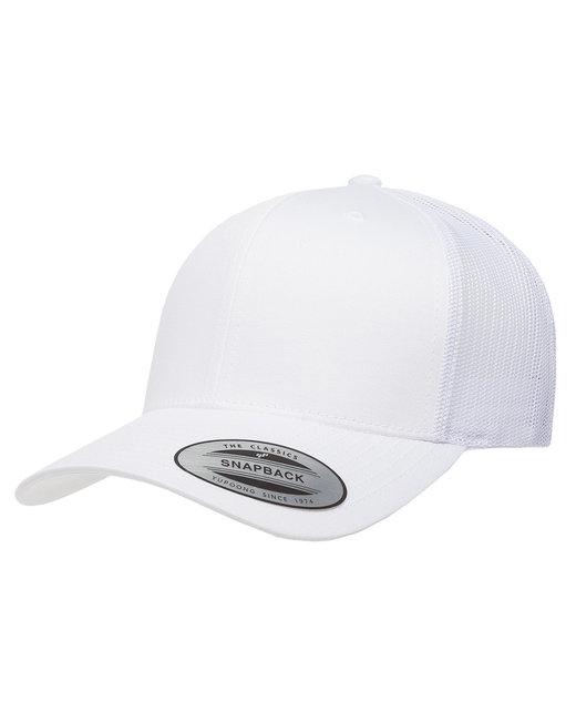 Yupoong Adult Retro Trucker Cap - White