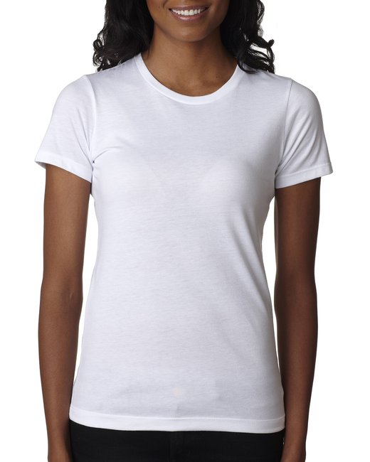 Next Level Ladies' CVC T-Shirt - White