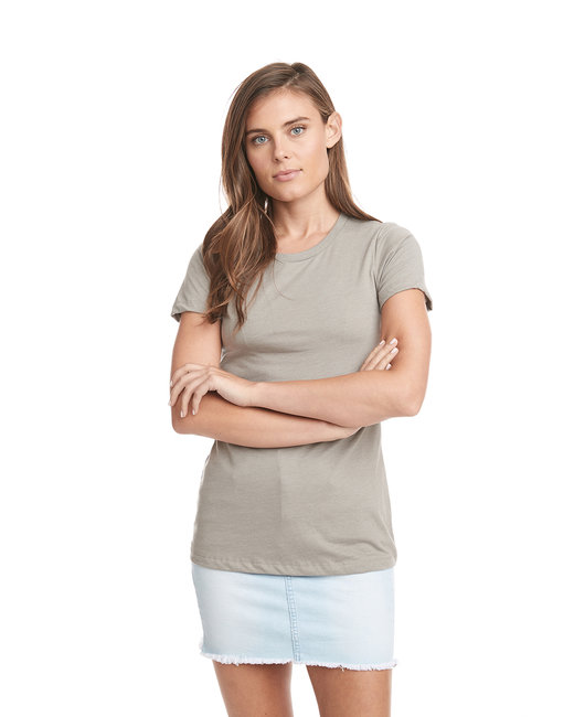 Next Level Ladies' CVC T-Shirt - Sand