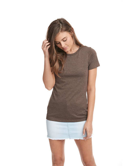 Next Level Ladies' CVC T-Shirt - Espresso
