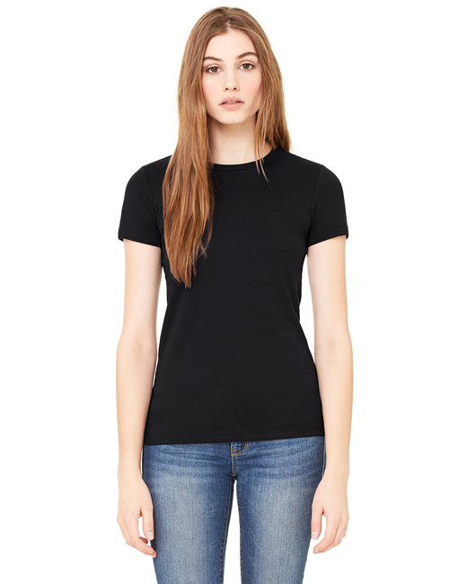 6650 Bella + Canvas Ladies' Poly-Cotton Short-Sleeve T-Shirt