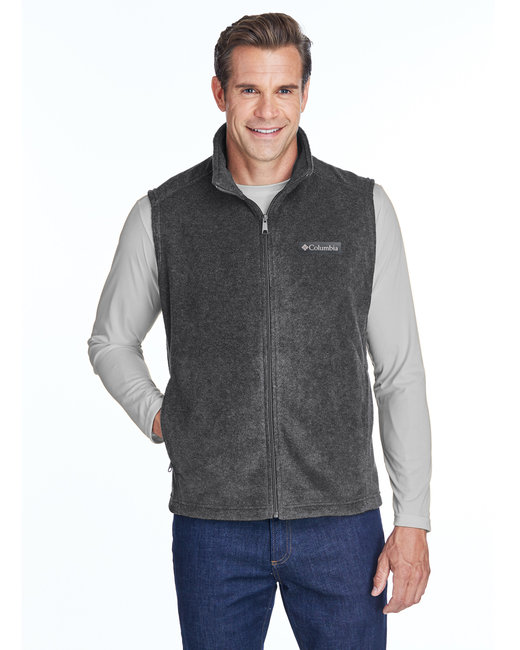 Columbia Men's Steens Mountain� Vest - Charcoal Hthr