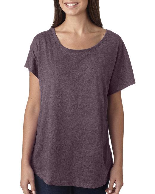 Next Level Ladies' Triblend Dolman - Vintage Purple
