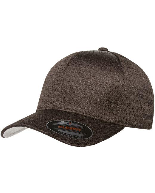 Flexfit Adult Athletic Mesh Cap - Brown