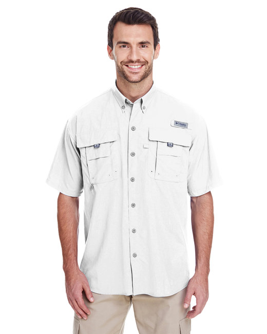 Columbia Men's Bahama™ II Short-Sleeve Shirt - White