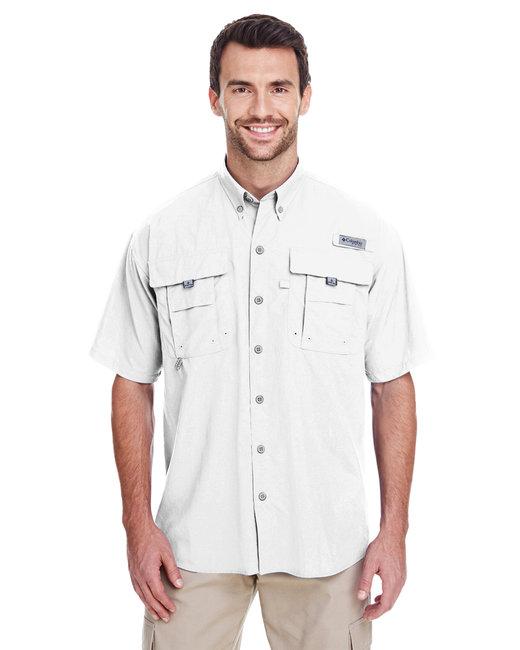 Columbia Men's Bahama� II Short-Sleeve Shirt - White