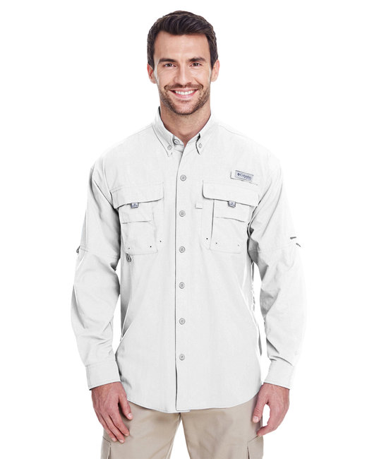 Columbia Men's Bahama™ II Long-Sleeve Shirt - White