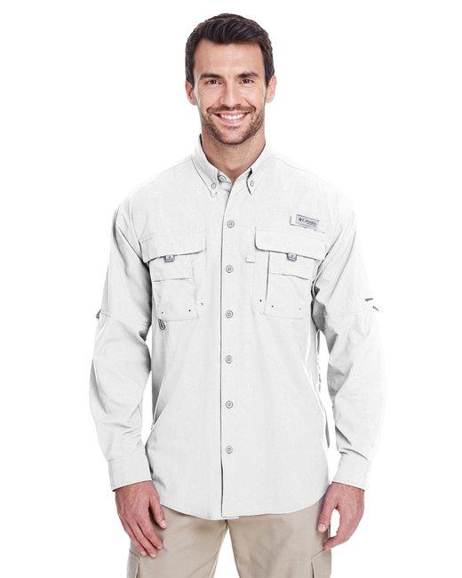 Columbia Men's Bahama� II Long-Sleeve Shirt - White