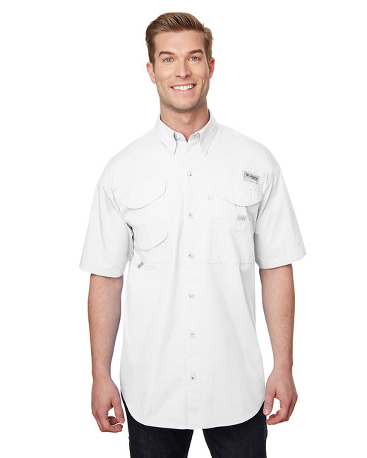 Columbia Men's Bonehead� Short-Sleeve Shirt - White