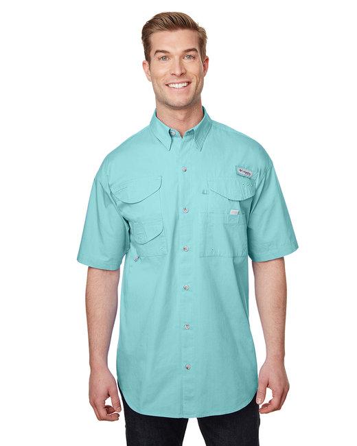Columbia Men's Bonehead� Short-Sleeve Shirt - Gulf Stream
