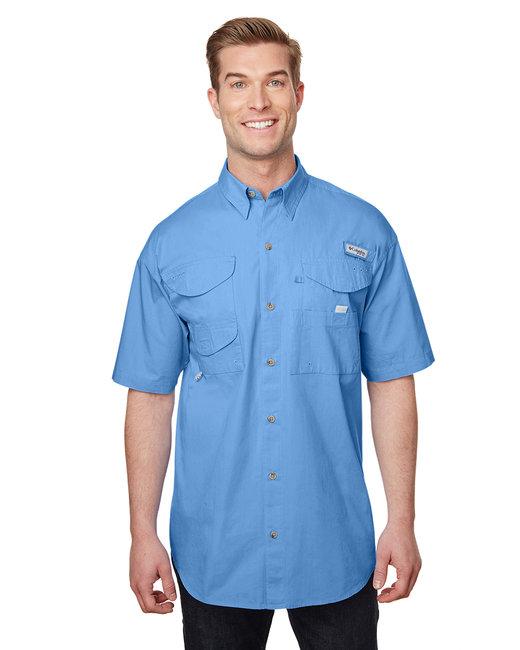 Columbia Men's Bonehead� Short-Sleeve Shirt - Whitecap