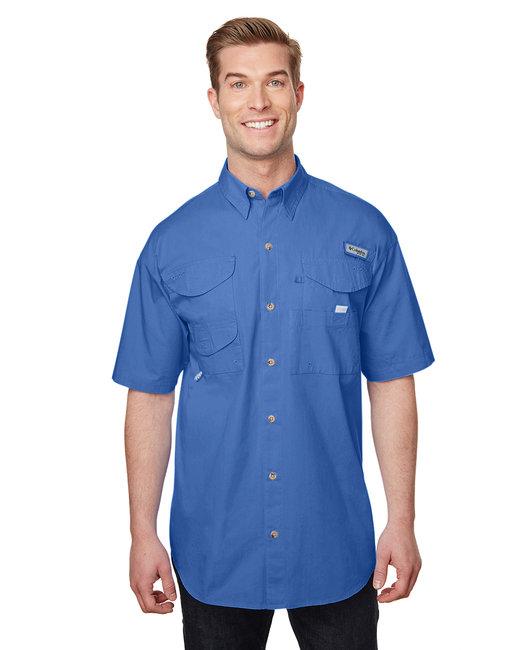 Columbia Men's Bonehead� Short-Sleeve Shirt - Vivid Blue