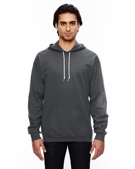 Anvil Adult Pullover Hooded Fleece - Charcoal
