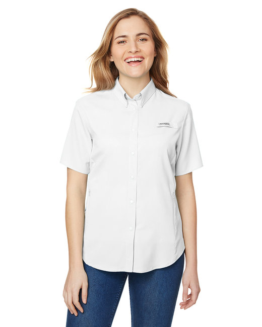 Columbia Ladies' Tamiami� II Short-Sleeve Shirt - White