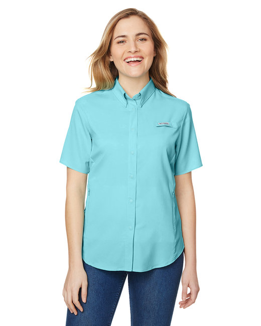 Columbia Ladies' Tamiami� II Short-Sleeve Shirt - Clear Blue