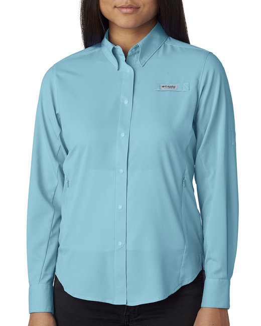 Columbia Ladies' Tamiami� II Long-Sleeve Shirt - Clear Blue