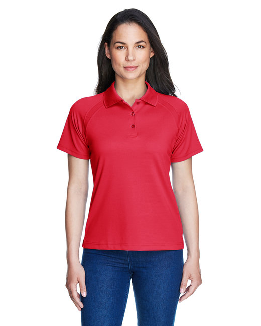 Extreme Ladies' Eperformance™ Ottoman Textured Polo - Classic Red