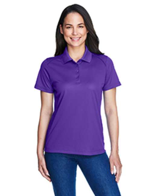 Extreme Ladies' Eperformance™ Shield Snag Protection Short-Sleeve Polo - Campus Purple
