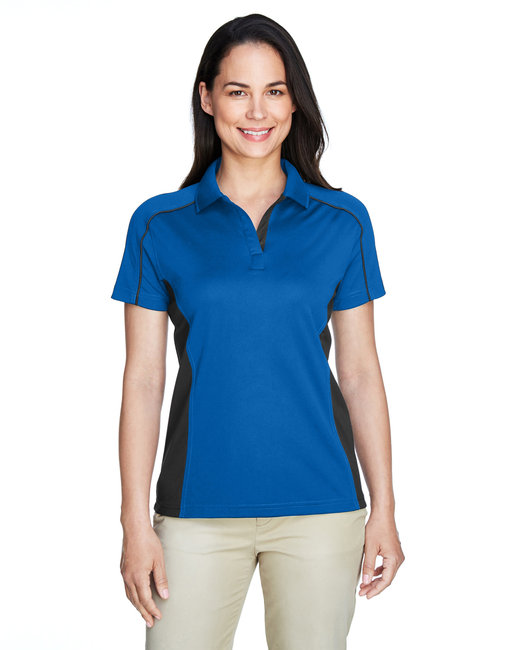 Extreme Ladies' Eperformance™ Fuse Snag Protection Plus Colorblock Polo - True Royal/ Blk