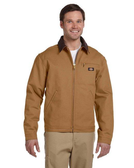 Dickies Unisex Duck Blanket Lined Jacket - Brown Duck