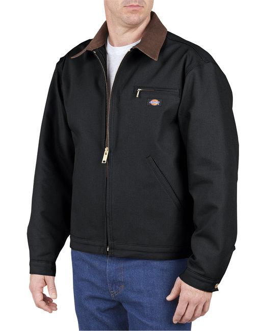 Dickies Unisex Duck Blanket Lined Jacket - Black