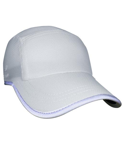 Headsweats Unisex Reflective Knit Race Hat - White Reflective