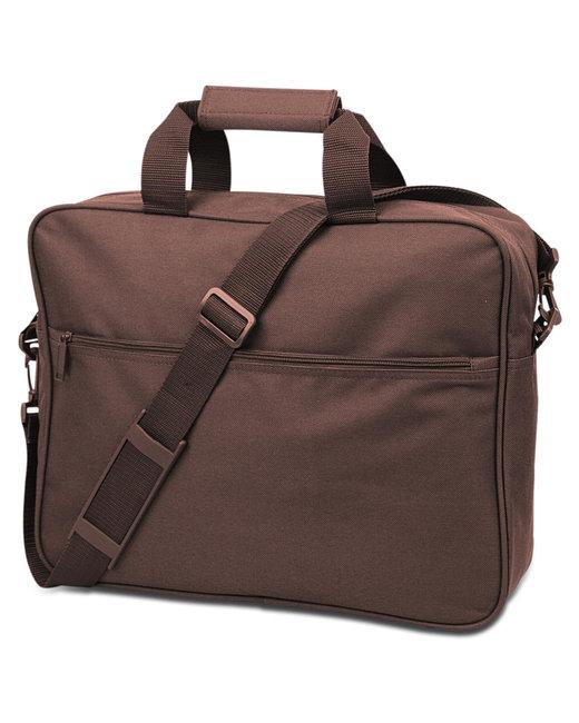 Liberty Bags Convention Messenger Bag - Brown
