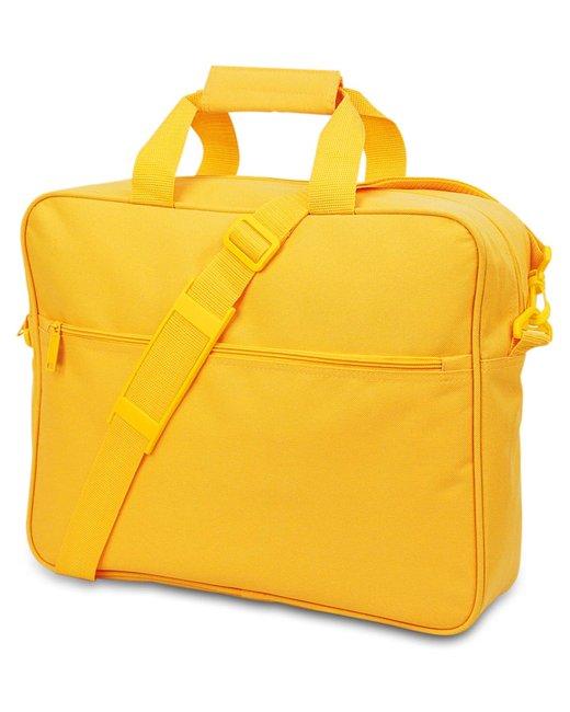 Liberty Bags Convention Messenger Bag - Golden Yellow
