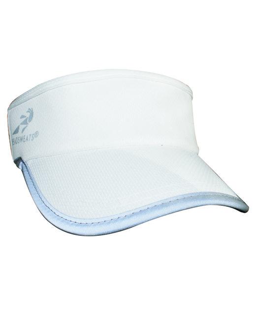 Headsweats Unisex Reflective Knit SuperVisor - White Reflective