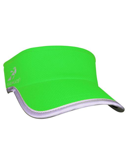 Headsweats Unisex Reflective Knit SuperVisor - Hi Viz Green