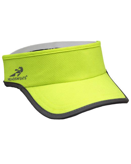 Headsweats Unisex Reflective Knit SuperVisor - Hi Viz Yellow