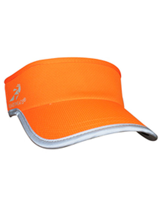 Headsweats Unisex Reflective Knit SuperVisor - Neon Orange