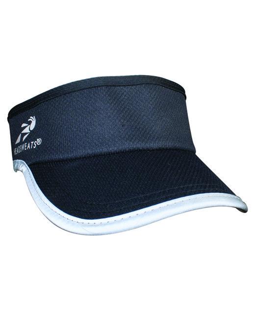 Headsweats Unisex Reflective Knit SuperVisor - Black Reflective