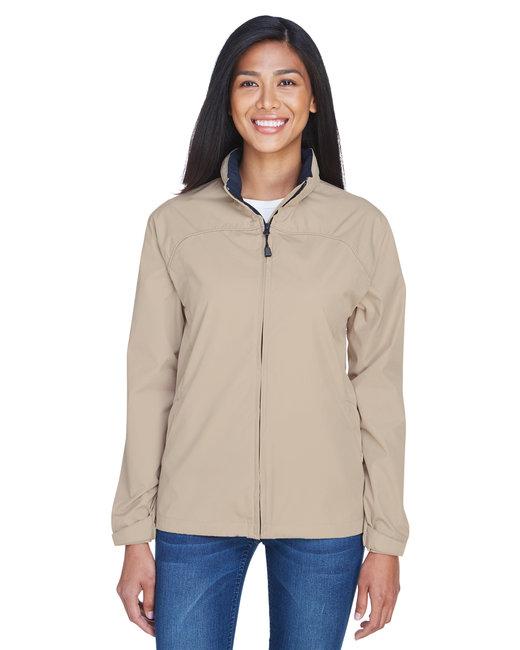 North End Ladies' Techno Lite Jacket - Putty
