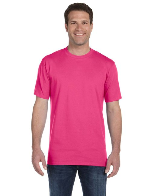Anvil Adult Midweight T-Shirt - Hot Pink