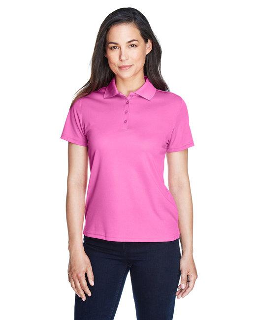 Core 365 Ladies' Origin Performance Piqué Polo - Charity Pink