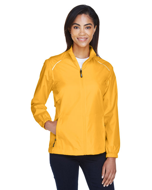 Core 365 Ladies' Motivate Unlined LightweightJacket - Campus Gold