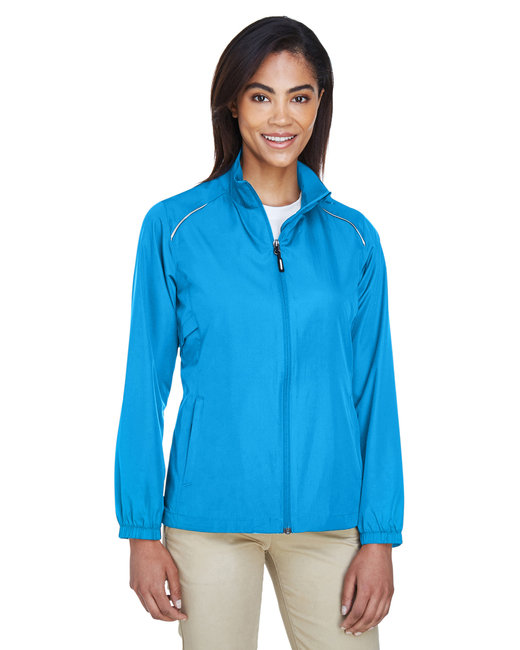 Core 365 Ladies' Motivate Unlined LightweightJacket - Electric Blue