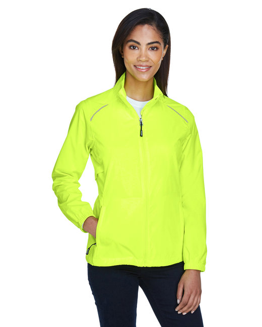 Core 365 Ladies' Motivate Unlined LightweightJacket - Safety Yellow