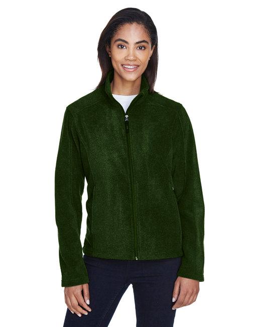Core 365 Ladies' Journey Fleece Jacket - Forest